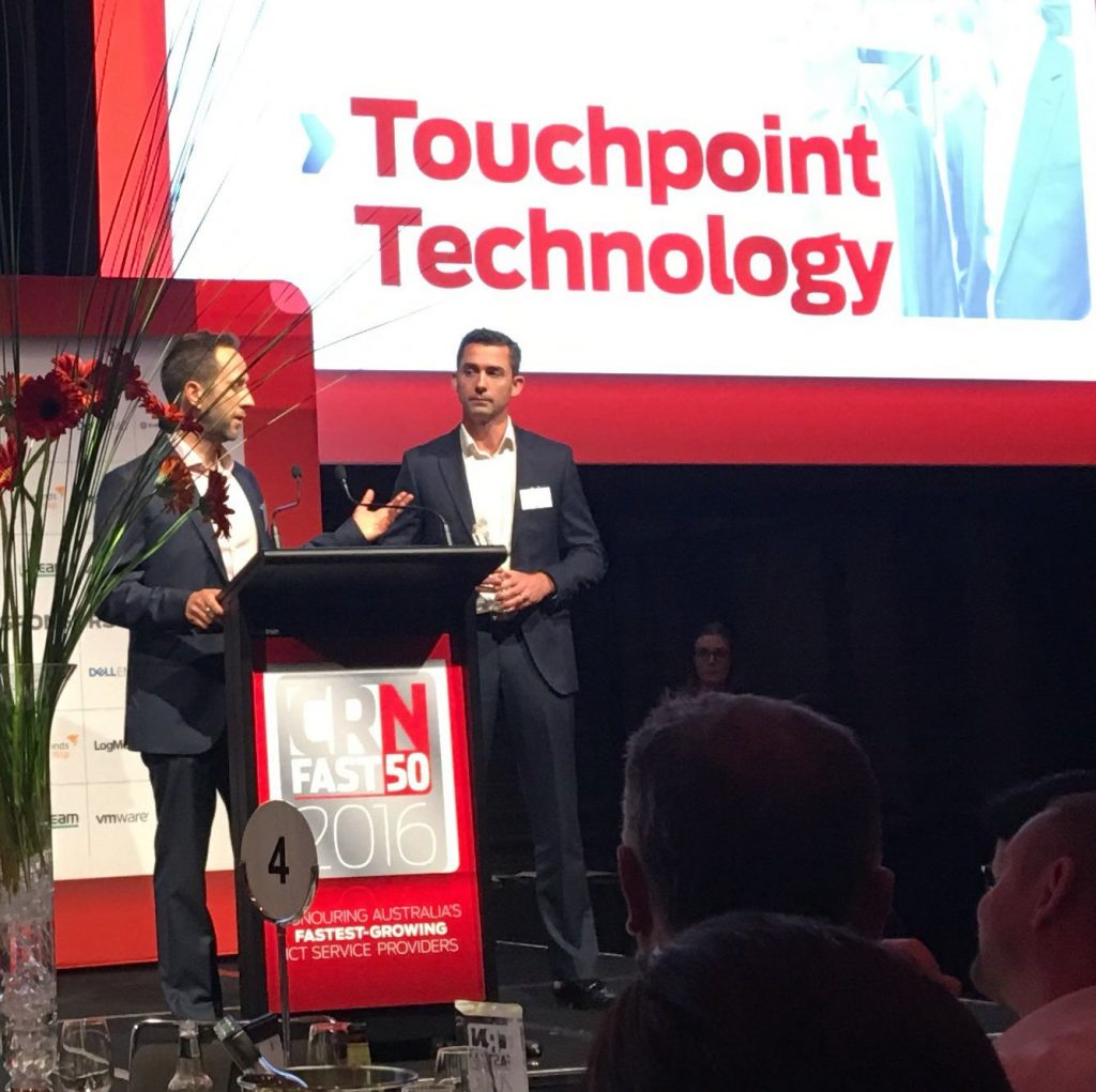 Touchpoint Reaches Top 10 of CRN Fast 50