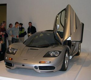 McLaren F1 Supercars are serviced using legacy equipment