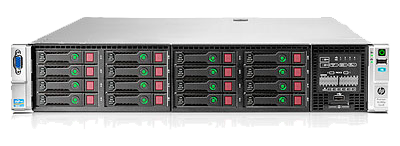 665554-B21 HPE ProLiant DL380 Gen8 with 25 x SFF drive bays