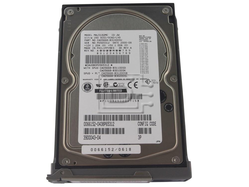 540-4177 -TP Sun 18.2GB 10K SCSI 3.5' HOT-PLUG