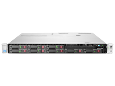 733733-371 -HS HPE ProLiant DL360 Gen8 - 2xE5-2650 8Core 2.00GHz CPU 32GB RAM 4x300GB 15K SAS HDDs