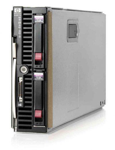 459485-B21 -TP HP ProLiant BL460c G1, 2 X Xeon QC 2.66GHZ, 32GB RAM, 2 X 146GB HDD, QMH2462 4GB FC HBA , NC373M DP 1GB NIC