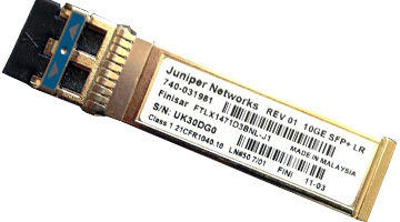 EX-SFP-1GE-T Juniper Small Form Factor Pluggable 10/100/1000 Copper Transceiver Module