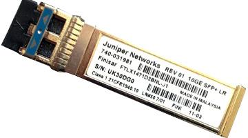 EX-SFP-10GE-LR Juniper Small Form Factor Pluggable 10 Gigabit Ethernet (SFP+) LR Optics