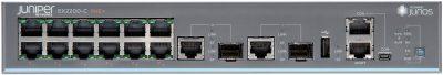 EX2200-C-12P-2G Juniper EX2200, Compact, Fanless, 12-Port 10/100/1000 BaseT (12-Ports PoE+) with 2 Dual-Purpose (10/100/1000 BaseT or SFP) Uplink Ports
