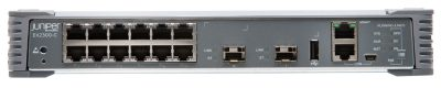 EX2300-C-12T-VC Juniper EX2300 Compact ES Fanless 12-port 10/100/1000BaseT, 2 x 1/10G SFP/SFP+ with VC License (optics sold separately)