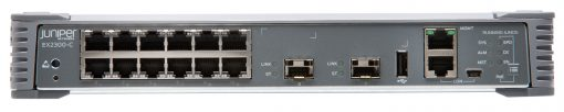 EX2300-C-12P Juniper EX2300 Compact Fanless 12-port 10/100/1000BaseT PoE+, 2 x 1/10G SFP/SFP+ (optics sold separately)