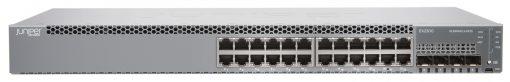 EX2300-24T Juniper EX2300 24-port 10/100/1000BaseT, 4 x 1/10G SFP/SFP+ (optics sold separately)
