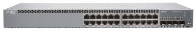 EX2300-24T-DC Juniper EX2300 ES 24-port 10/100/1000BaseT with internal DC PSU, 4 x 1/10G SFP/SFP+ (optics sold separately)
