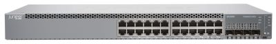 EX2300-24P Juniper EX2300 24-port 10/100/1000BaseT PoE+, 4 x 1/10G SFP/SFP+ (optics sold separately)
