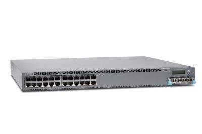 EX4300-24P -TP Juniper EX4300 24-PORT 10/100/1000BASET POE-PLUS + 750W AC PS