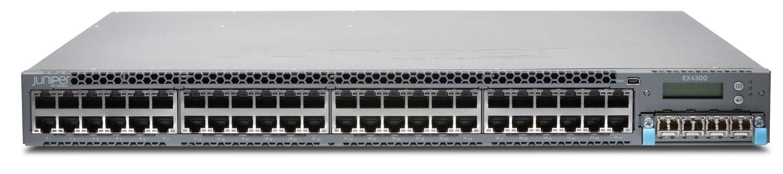 EX4300-48T-AFI Juniper Networks EX4300 ES 48-Port 10/100/1000BaseT + 350W AC PS (Airflow in)