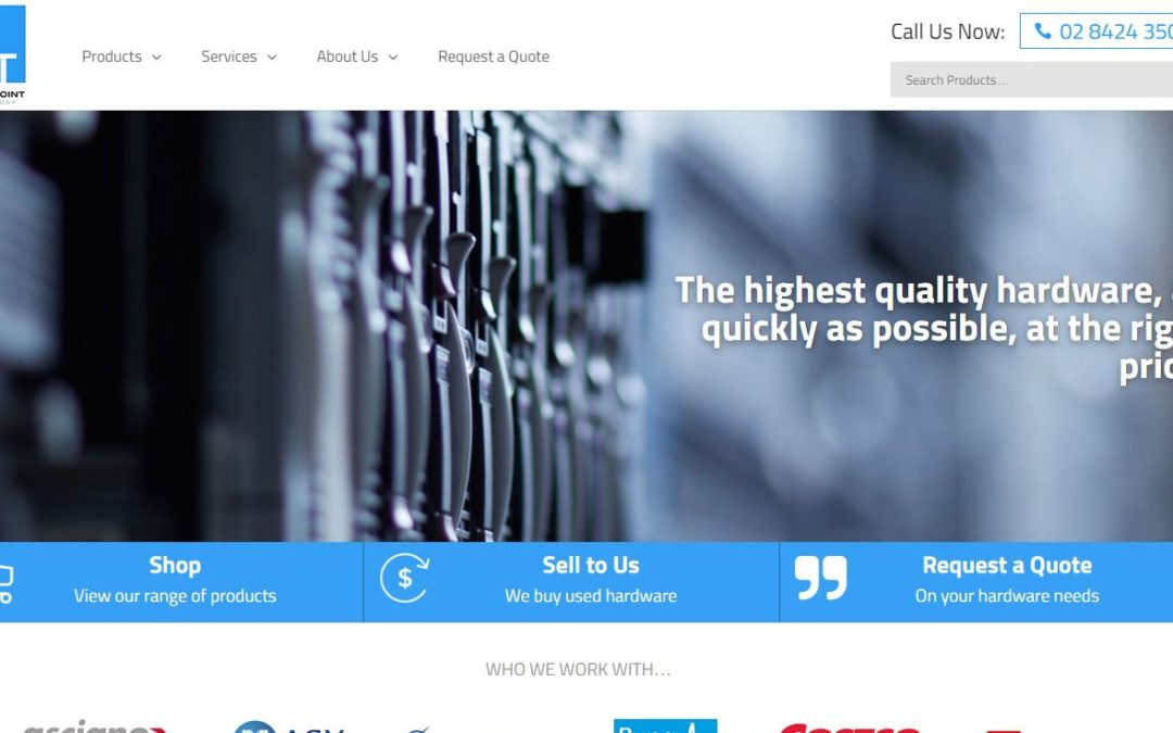New Touchpoint Technology Website Live