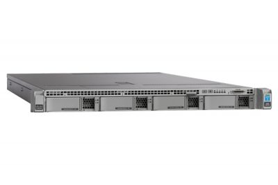 UCS-SPR-C220M4-BS1 CISCO UCS C220M4S W/1XE52620V4,1X16GB,MRAID,1X770W,32G SD,RAILS