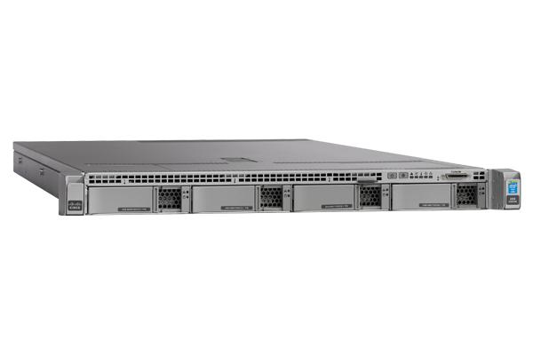 UCS-SPR-C220M4-BS1 CISCO UCS C220M4S W/1XE52620V4,1X16GB,MRAID,1X770W,32G SD,RAILS
