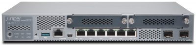 SRX320-POE Juniper SRX320 (Hardware Only, require SRX320-JSB or SRX320-JSE to complete the System) with 8GE (w 2x SFP), 4G RAM, 8G Flash, 2x MPIM slots and 6x GE POE+ ports. Includes external power supply and cable. RMK not included
