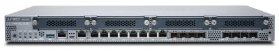 SRX345 Juniper SRX345 (Hardware Only, require SRX345-JSB or SRX340-JSE to complete the System) with 16GE (w 8x SFP), 4G RAM, 8G Flash and 4x MPIM slots. Includes internal power supply, cable and RM