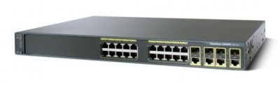 WS-C2960G-24TC-L -TP Cisco CATALYST 2960 24 10/100/1000,  4 T/SFP LAN BASE IMAGE