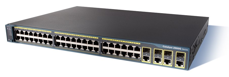WS-C2960G-48TC-L Cisco 2960 Series Gigabit Switch