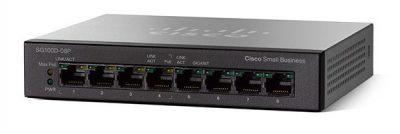 SG100D-08-AU -TP Cisco Small Business 8-Port PoE Gigabit Desktop Switch