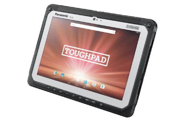 "FZ-A2A202MAA Panasonic Toughpad FZ-A2 10.1"" Android Tablet with 4G, GPS, Barcode Reader and Android 6.0"
