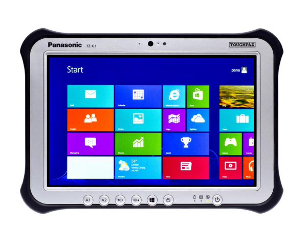"FZ-G1R3103VA Panasonic Toughpad FZ-G1 10.1"" MK4 with 256GB SSD"