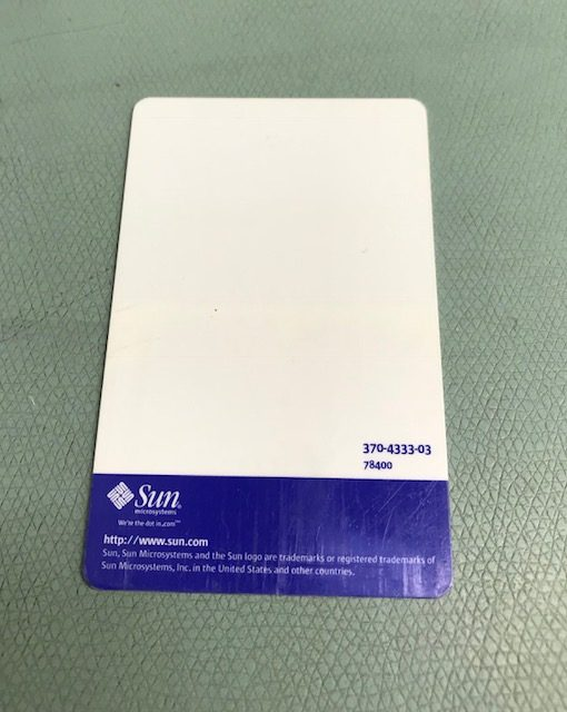 Sun Microsystems Payflex Cards (Generic version)