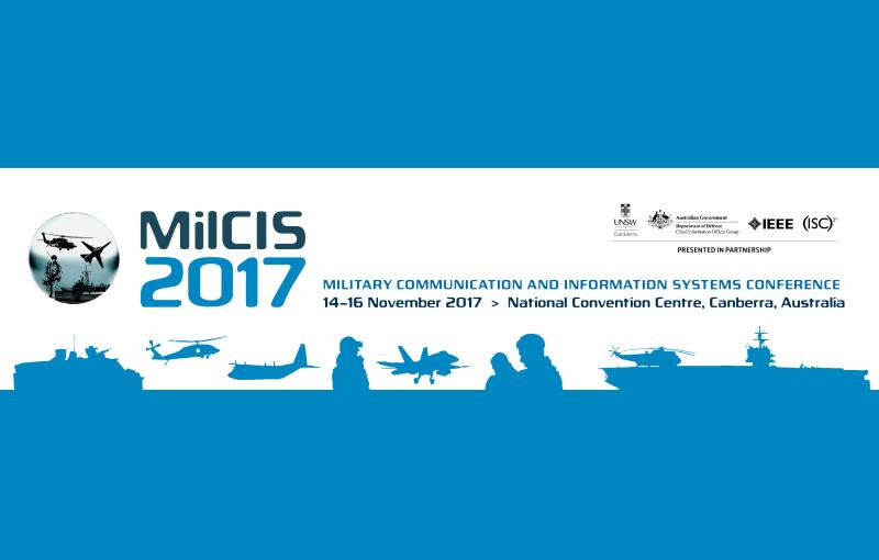Visit us at MilCIS 2017!