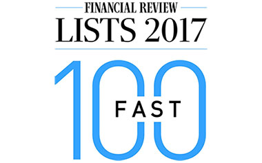 Touchpoint are in the Australian Financial Review Fast 100 for 2017!