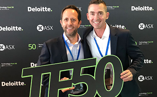 Touchpoint Feature in Deloitte Technology Fast 50