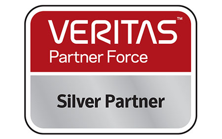 We are now a Veritas Silver Partner