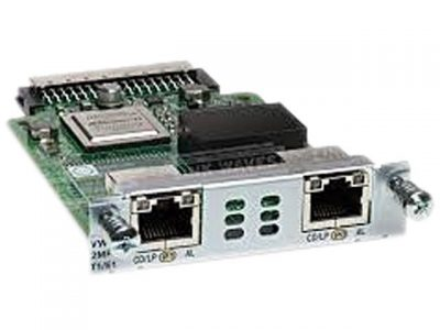 VWIC3-2MFT-T1E1-RF (Refurb) Cisco Third-Generation 2-Port T1/E1 Multiflex Trunk Voice/WAN Interface Card - expansion module