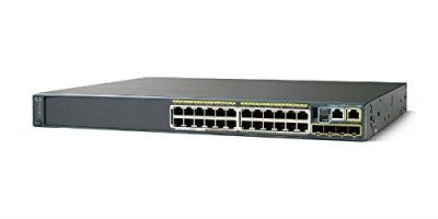 WS-C2960S-F24PS-L (Refurb) Cisco Catalyst 2960S 24 GigE PoE 370W; 4 x SFP LAN Base