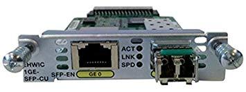 EHWIC-1GE-SFP-CU= -TP EHWIC 1 port dual mode SFP or GE Spare