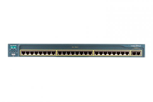 WS-C2950T-24 (Refurb) Cisco Catalyst 2950T 24 Port Switch
