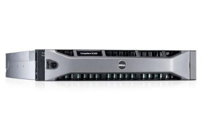SC220 -HS Dell SC220 dual controllers, dual power supplies, 24x Compellent SC220 200Gb 6Gbps 2.5 SSD's