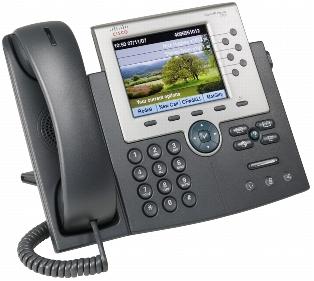 CP-7965G (Refurb) Cisco UC Phone 7965, Gig Ethernet