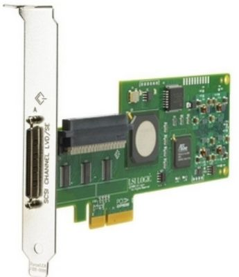 412911-B21 (Refurb) HP SC11Xe Single-channel Ultra320 PCI-E SCSI HBA