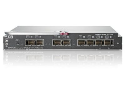 571956-B21 (Refurb) HPE Virtual Connect FlexFabric 10Gb/24-port Module for c-Class BladeSystem