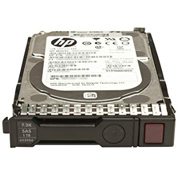 652749-B21 (Refurb) HP 1TB 6G SAS 7.2K 2.5IN SC MDL HDD