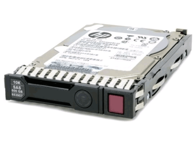 652583-B21 (Refurb) HP 600GB 6G SAS 10K 2.5in SC ENT HDD