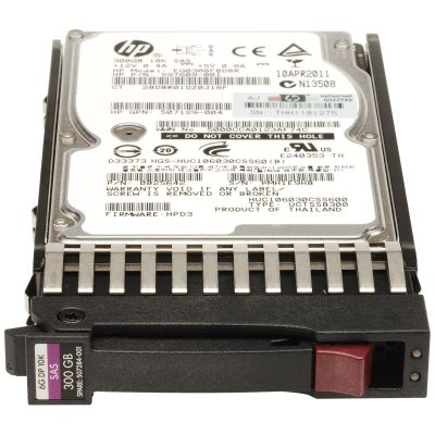 507284-001 (Refurb) HP 300GB SAS 10K SFF DP ENT HDD