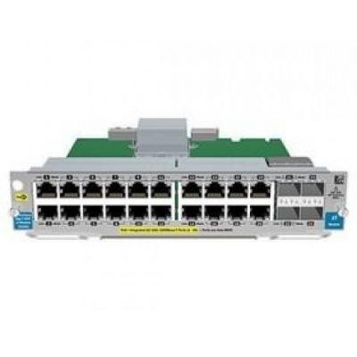 J9536A HPE 20-port Gig-T PoE+/2-port 10GbE SFP+ v2 zl Module