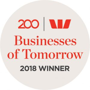Westpac Businesses of Tomorrow Circle Logo