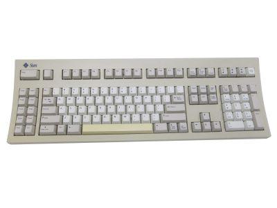 320-1234 (Refurb) Sun Type 5C Unix Keyboard