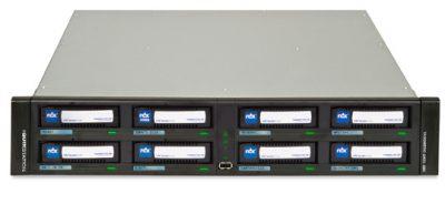 8930-RDX RDX QuikStation: 8-drive, 1GbE-attached Removable Disk Library, 4 x 1GbE ports, Removable Disk Library, 2U, Rackmount