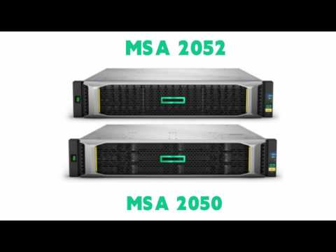 Q1J00A HPE MSA 2050 Configure to Order Storage Array