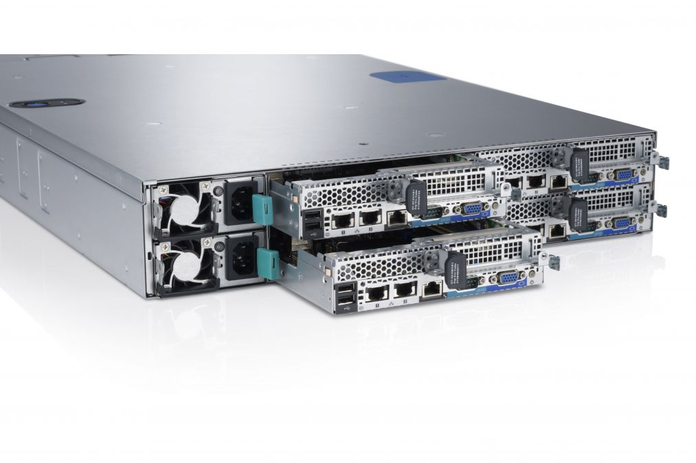 Dell C6220 Node Server, Two-node systems 2U Sleds