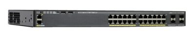 WS-C2960X-24TD-L Cisco Catalyst 2960X-24TD-L 24 Non PoE port Switch