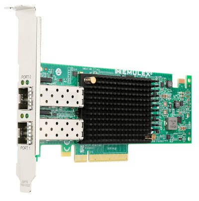 00AG580 Lenovo Emulex VFA5.2 2x10 GbE SFP+ Adapter and FCoE/iSCSI SW